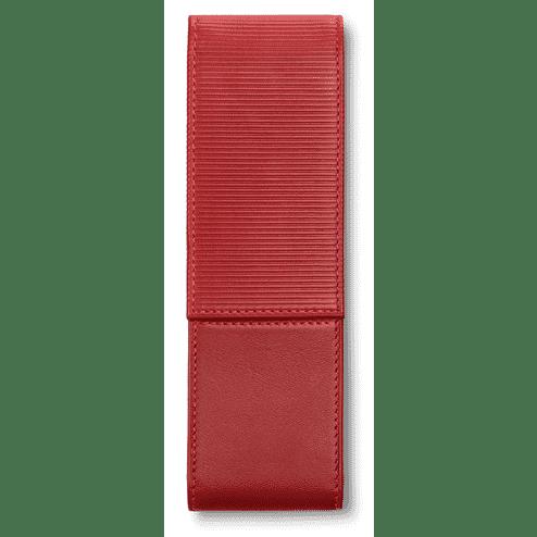 Lamy Rood Lederen Pen etui voor 2 pennen
