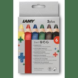 Lamy 3plus 6 delige set