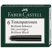Faber-Castell Vulpen Inkt Cartridges 6 pack Zwart