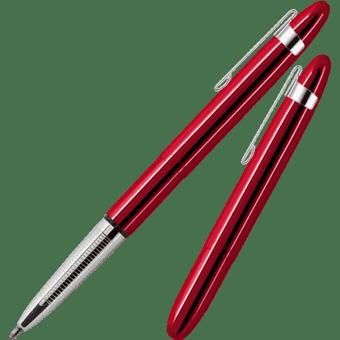 Fisher Space Pen Bullet Red Cherry Balpen met clip