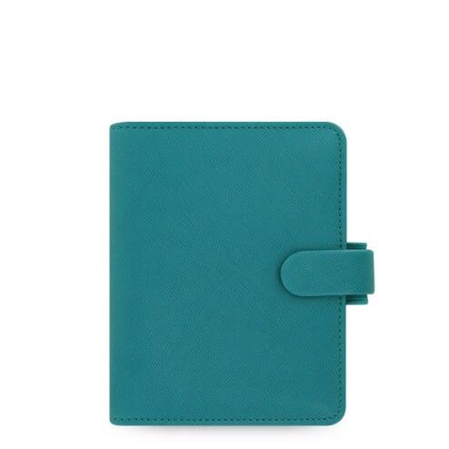 Filofax Saffiano Pocket Aquamarine