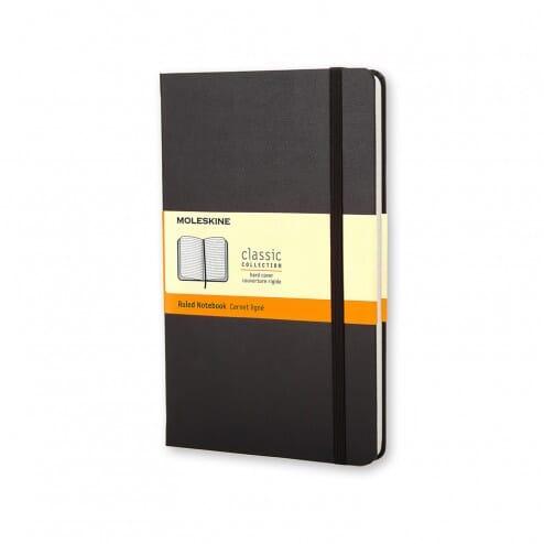 Moleskine Classic Pocket Notebook Zwart Harde Kaft Lijntjes