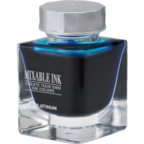 Platinum Mixable Ink Bottle Aqua Blue