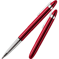 Fisher Space Pen Bullet Red Cherry Balpen met clip