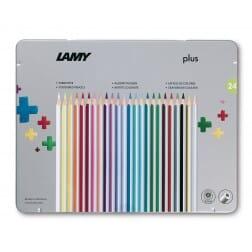 Lamy plus 24 delige set metalen doos