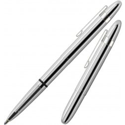 Fisher Space Pen Bullet Classic Chrome with Clip 400CL