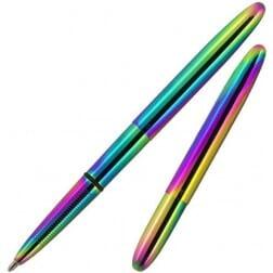 Fisher Space Pen Bullet Rainbow Titanium