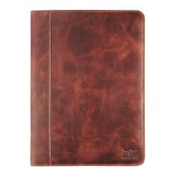 Maverick A4 Writing Pad without Zipper Dark Brown