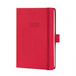 Sigel Conceptum Pure 2020 Weekagenda A5 Rosewood Rood Hard cover