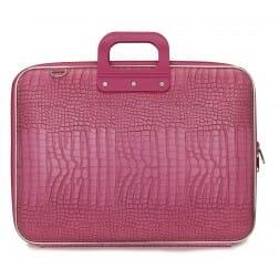 "Bombata Cocco Dark Pink Laptoptas 17"""