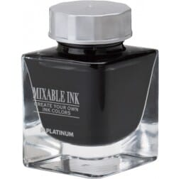 Platinum Mixable Ink Bottle Smoke Black