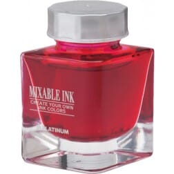 Platinum Mixable Ink Bottle Cyclamen Pink