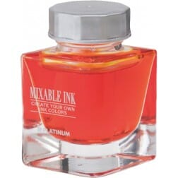 Platinum Mixable Ink Bottle Sunny Yellow