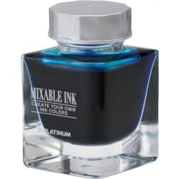 Platinum Mixable Ink Bottle Aqua Blue