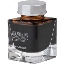 Platinum Mixable Ink Bottle Earth Brown