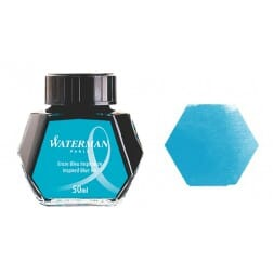 Waterman Ink Bottle Turquoise