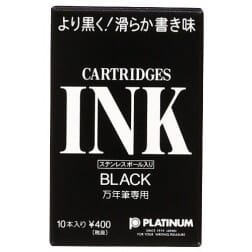 Platinum Zwarte Ink Cartridges