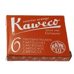 Kaweco Inkt Cartridges Oranje