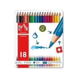 Caran d'Ache Fancolor 18 Kleurpotloden