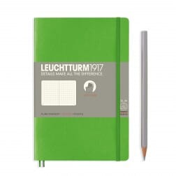 Leuchtturm1917 Slim B6+ Softcover Fresh Green Dotted Notebook