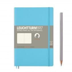 Leuchtturm1917 Slim B6+ Softcover Ice Blue Dotted Notebook