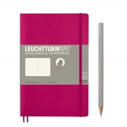 Leuchtturm1917 Slim B6+ Softcover Berry Dotted Notebook