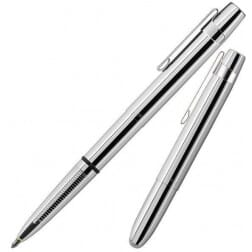 Fisher Space Pen Bullet X-Mark Chrome with Clip