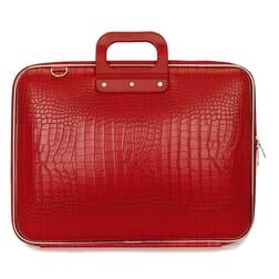 "Bombata Cocco Bright Red Laptoptas 17"""