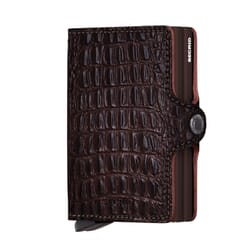 Secrid Twin Wallet Leather Nile Brown