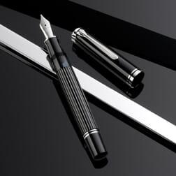 Pelikan M815 Metal Striped Fountain Pen Special Edition