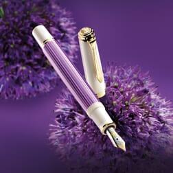 Pelikan Souverän 600 Violet-White Fountain Pen
