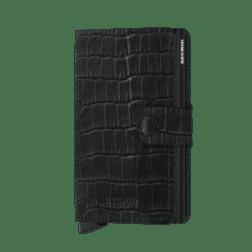 Secrid Mini Wallet Leather Cleo Black