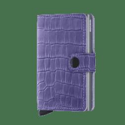 Secrid Mini Wallet Leather Cleo Lavender