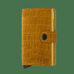 Secrid Mini Wallet Leather Cleo Ochre