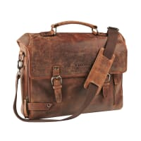 Maverick Briefcase Dark Brown