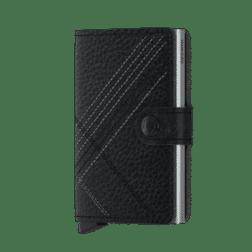 Secrid Mini Wallet Stitch Linea Black