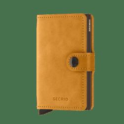 Secrid Mini Wallet Leather Vintage Ochre