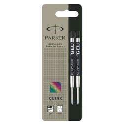 Parker Ball Pen Gel Refill Medium Black (2 pcs)