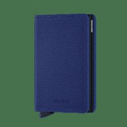 Secrid Slim Wallet Crisple Blue