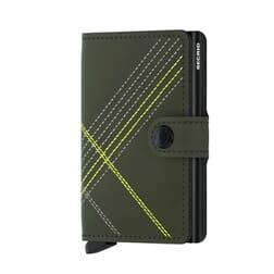 Secrid Mini Wallet Stitch Linea Lime