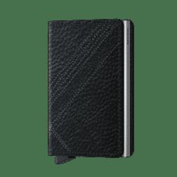 Secrid Slim Wallet Stitch Linea Black