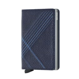 Secrid Slim Wallet Stitch Linea Navy