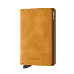 Secrid Slim Wallet Leather Vintage Ochre