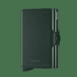 Secrid Twin Wallet Leather Original Green