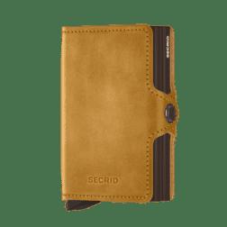 Secrid Twin Wallet Leather Vintage Ochre